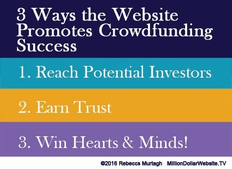 3 ways to use your website for crowdfunding success