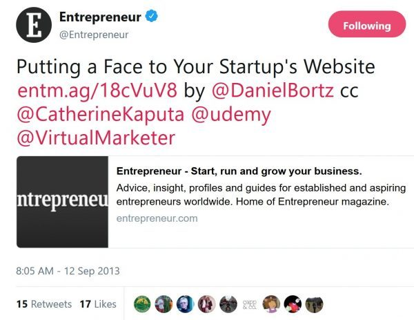 Entrepreneur.com features tips from Rebecca Murtagh