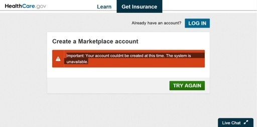 Why did healthcare.gov website fail?