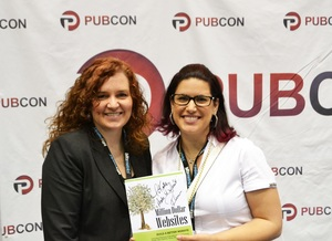 Rebecca Murtagh Kate Buck Jr at Pubcon